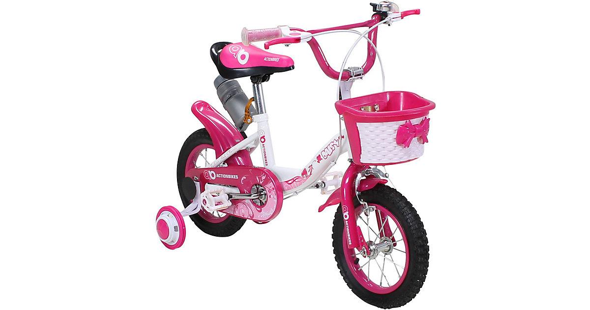 Kinder Fahrrad Daisy 12 Zoll pink
