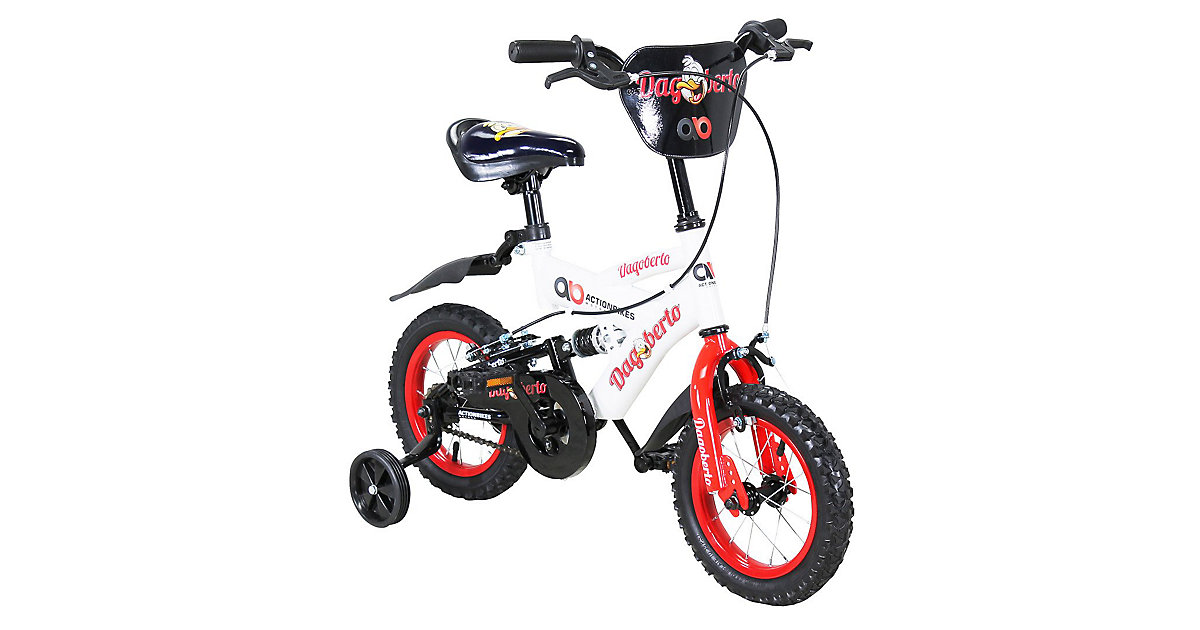 Kinder Fahrrad Dagoberto 12 Zoll rot