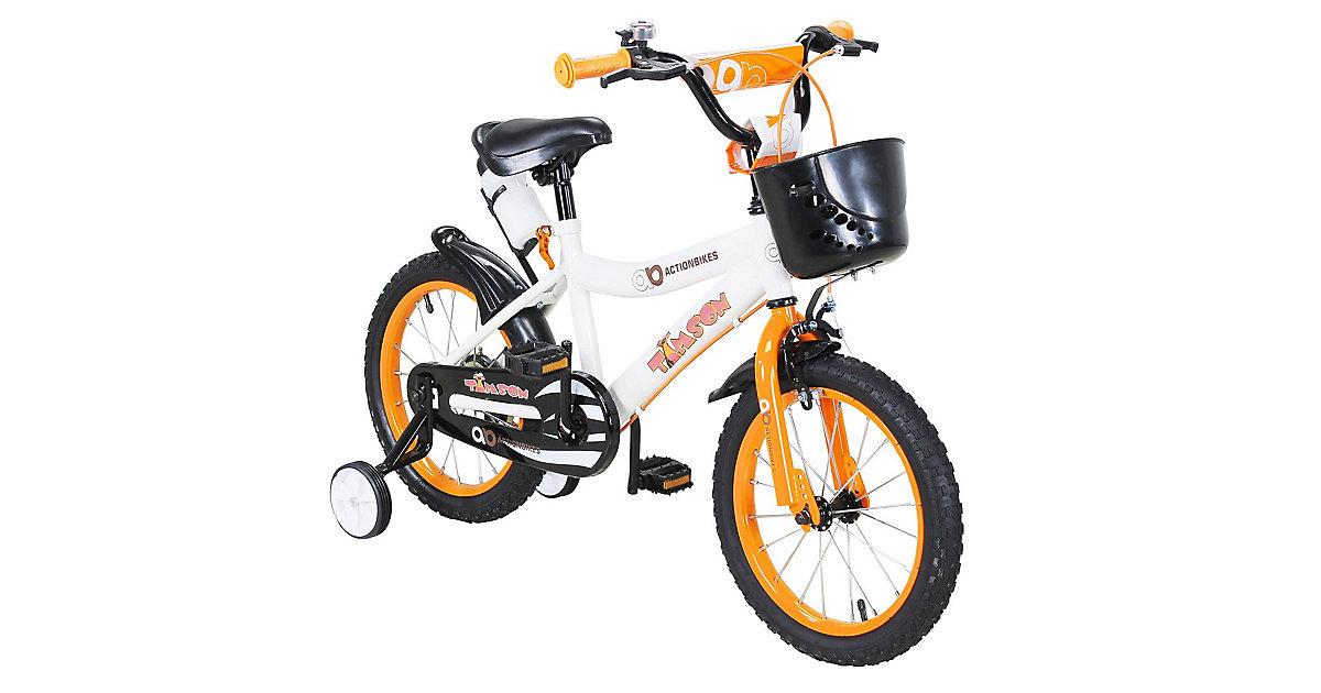 Kinder Fahrrad Timson 16 Zoll orange