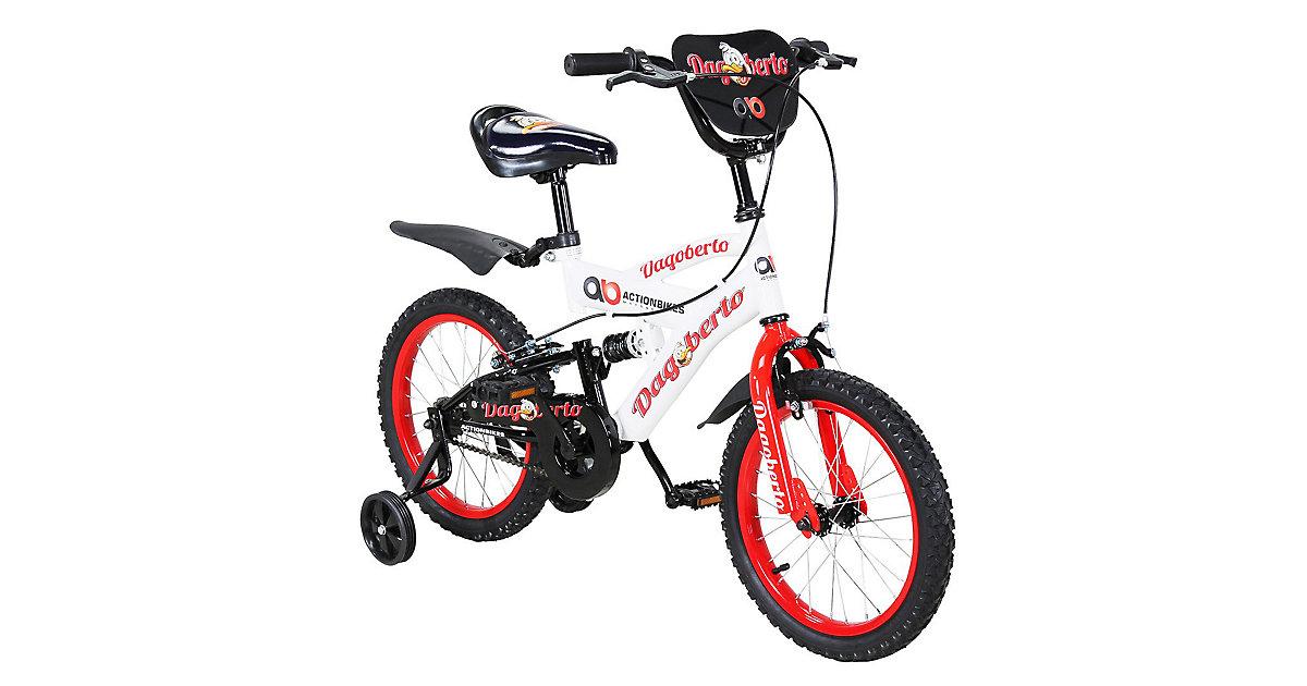 Kinder Fahrrad Dagoberto 16 Zoll rot