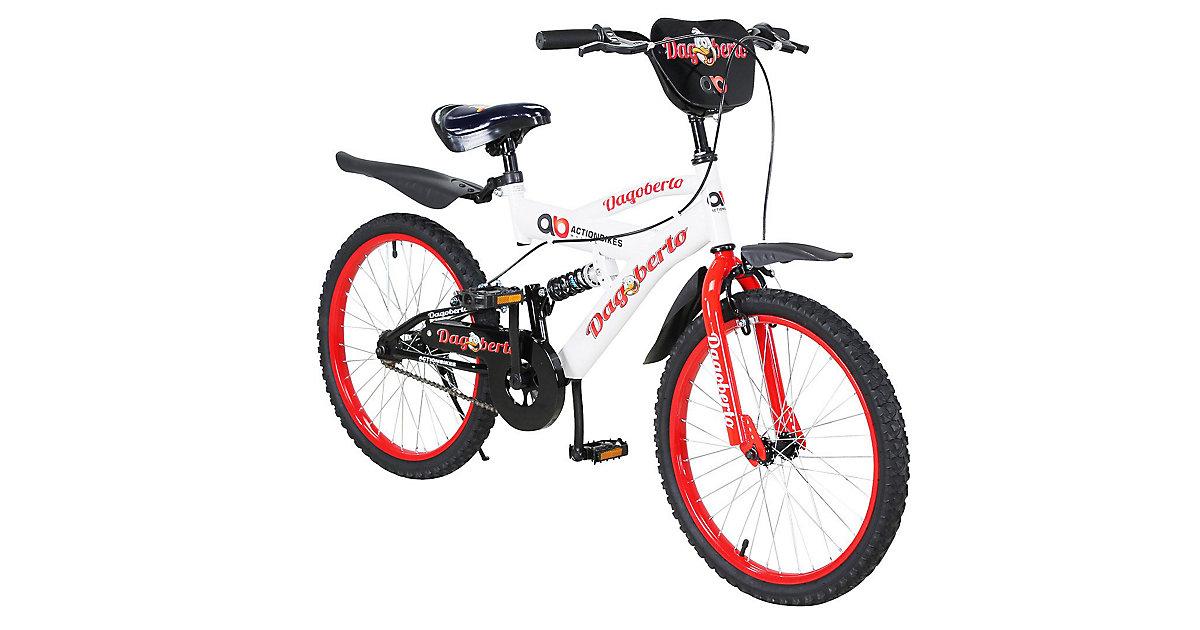 Kinder Fahrrad Dagoberto 20 Zoll rot