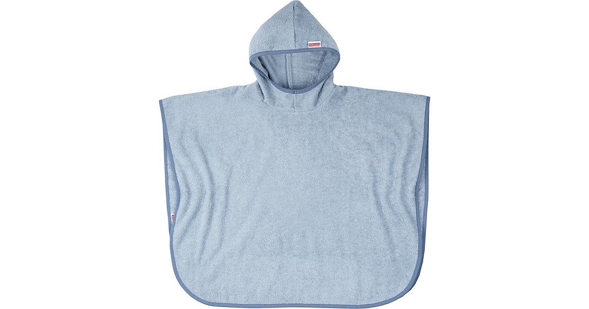 Bade-Poncho, hellblau, 60 x 75 cm Jungen Kleinkinder