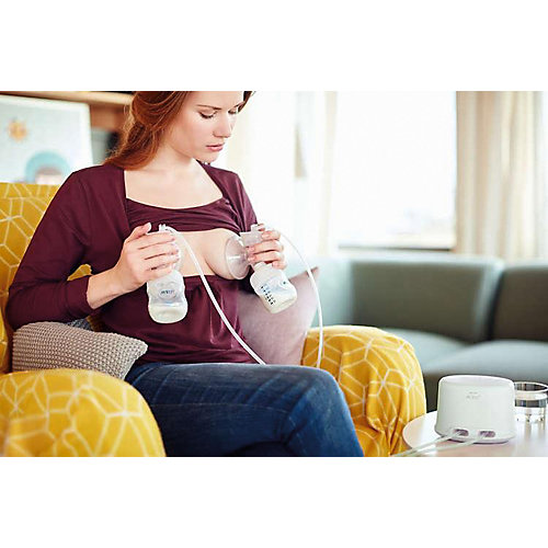 Двойной электронный молокоотсос Philips Avent Ultra Comfort Double от PHILIPS AVENT