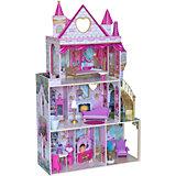 """Домик для кукол KidKraft """"Розовый замок"""""""