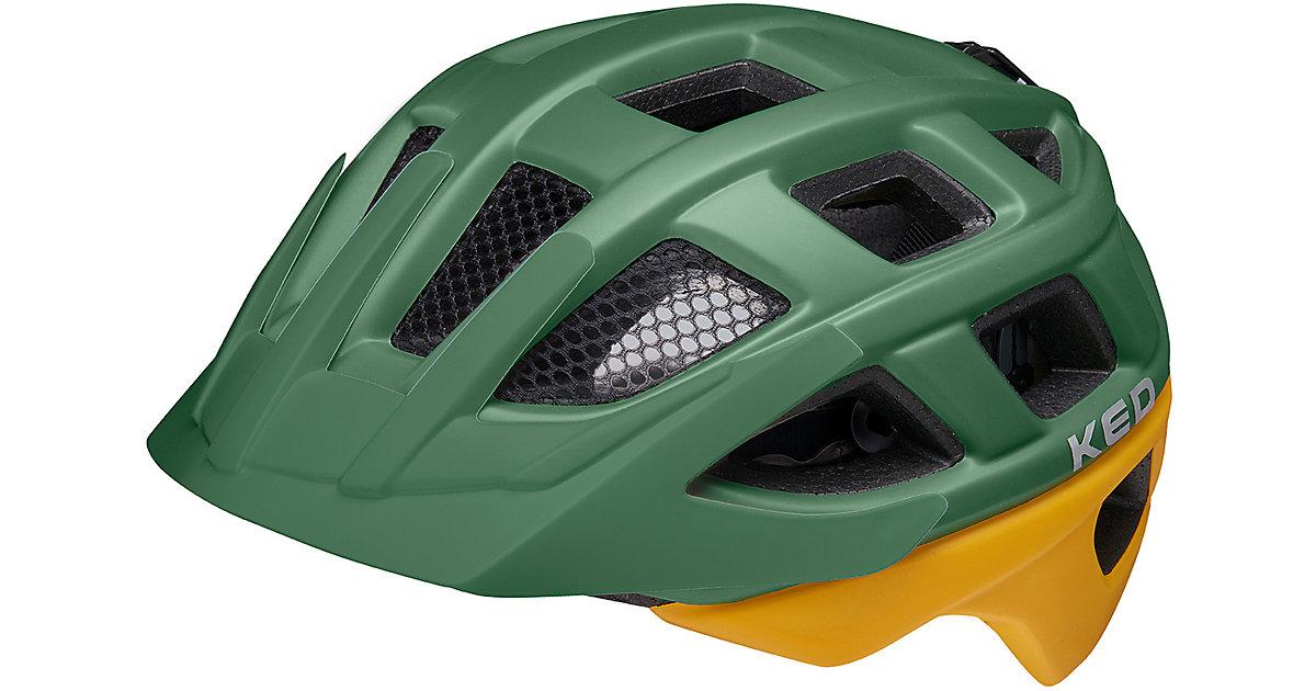 Fahrradhelm Kailu green yellow matt grün/gelb Gr. 49-53