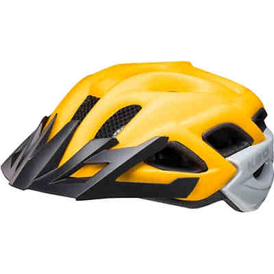 Fahrradhelm Status Jr. yellow black matt