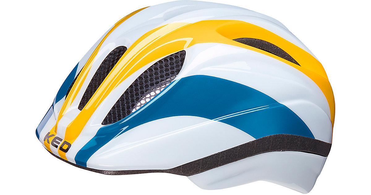 Fahrradhelm Meggy II Trend rainbow retro yellow gelb-kombi Gr. 46-51