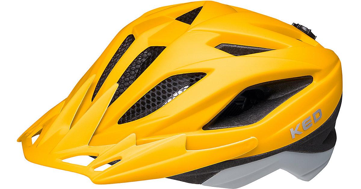 Fahrradhelm Street Jr. pro yellow grey matt gelb/grau Gr. 49-55