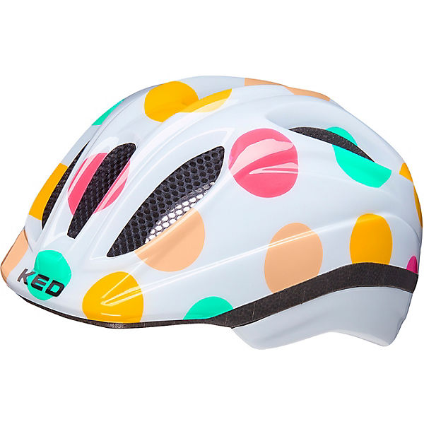 Fahrradhelm Meggy II Trend dots colorful