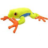 Мягкая игрушка All About Nature Древесная лягушка, 25 см