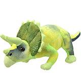 Мягкая игрушка All About Nature Трицератопс, 25 см