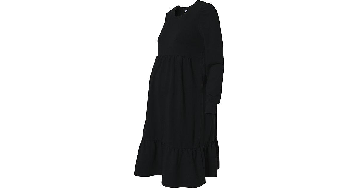 Umstandskleid MLCARLY, Organic Cotton schwarz Gr. 40 Damen Kinder