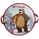 Ледянка 1Toy Маша и Медведь, круглая