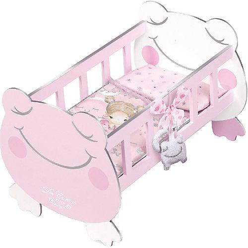Кроватка для куклы с аксессуарами DeCuevas, 49,5 см от DeCuevas