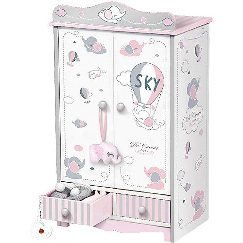 Гардеробный шкаф для куклы DeCuevas, 54 см от DeCuevas