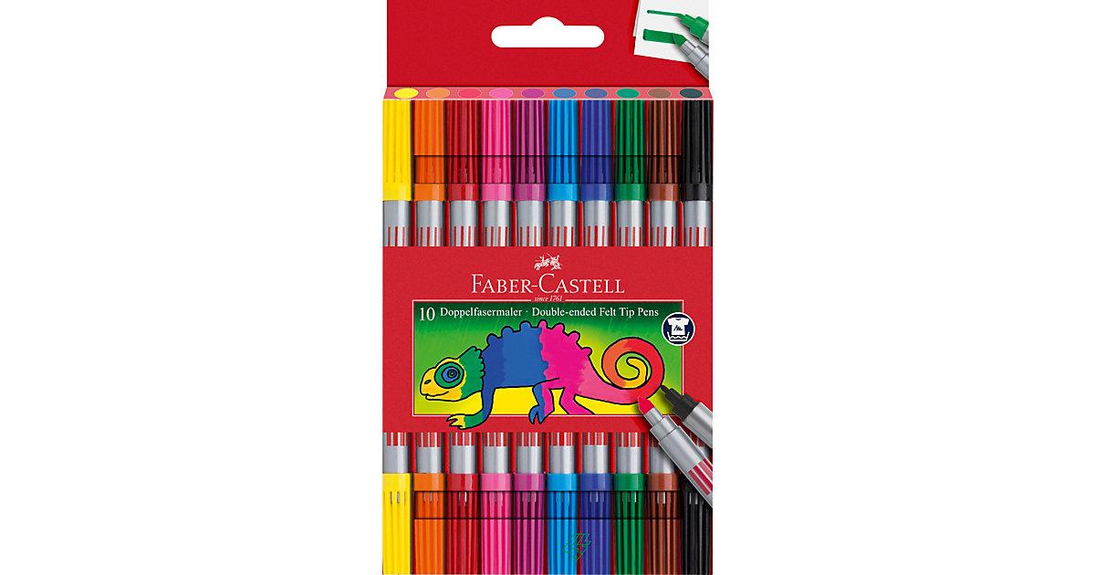 DoppelFilzstifte, 10 Farben