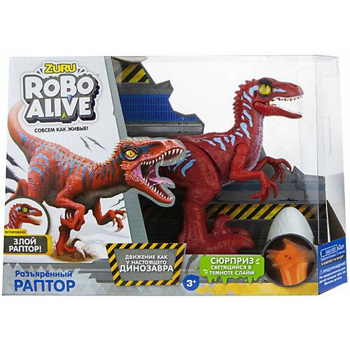 Игровой набор Zuru Robo Alive Раптор от ZURU