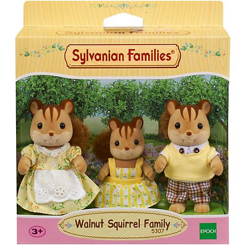 Игровой набор Sylvanian Families Семья Белок, 3 фигурки от Эпоха Чудес