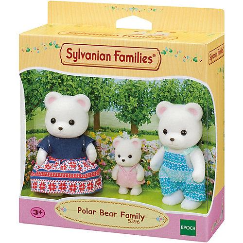 Игровой набор Sylvanian Families Семья Полярных мишек, 3 фигурки от Эпоха Чудес