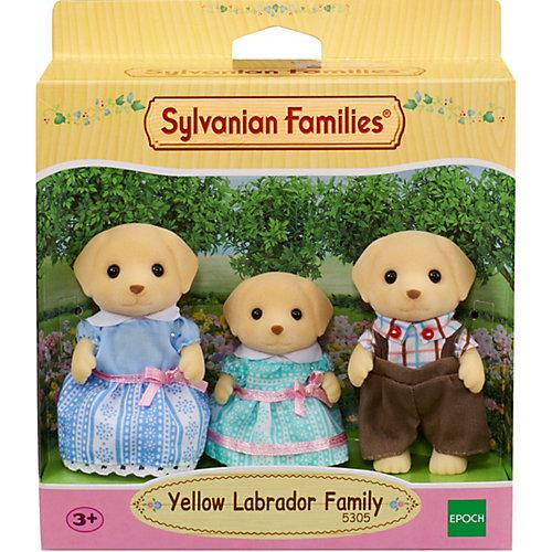 Игровой набор Sylvanian Families Семья Лабрадоров, 3 фигурки от Эпоха Чудес
