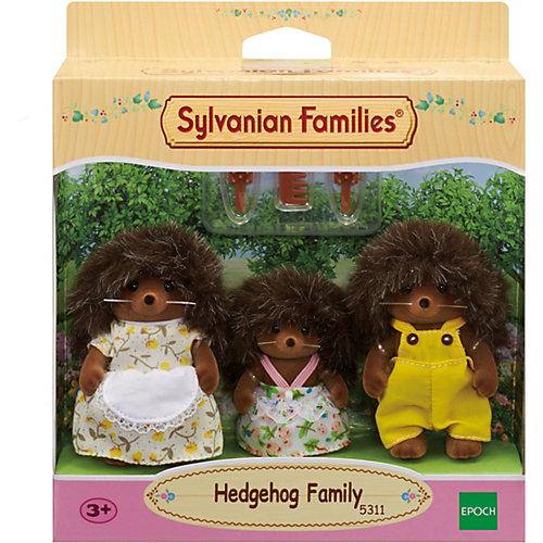 Игровой набор Sylvanian Families Семья Ежиков, 3 фигурки от Эпоха Чудес