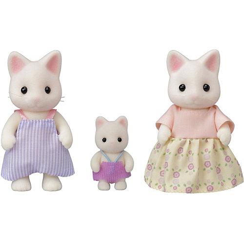 Игровой набор Sylvanian Families Семья Цветочных котов, 3 фигурки от Эпоха Чудес