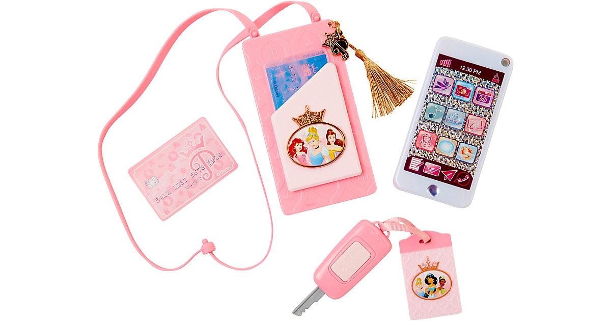 Disney Princess Style Collection - Autoschlüssel und Handy mit Hülle zum Umhängen pink/weiß