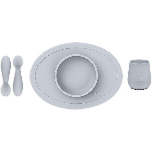 Набор посуды Ezpz First Food Set светло-серый от Ezpz