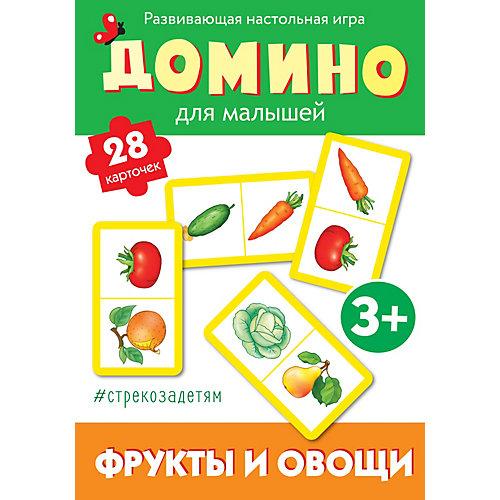 """Настольная игра Стрекоза """"Домино"""" Фрукты и овощи от Стрекоза"""