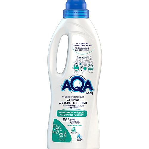 Жидкое средство для стирки Aqa baby, с антибактериальным эффектом, 1000 мл
