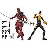 Набор фигурок Marvel Legends Дедпул и Сверхзвуковая боеголовка