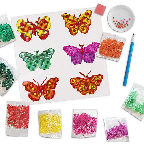 Мозаика стразами Maxi Art Бабочки, 6 стикеров, 20х20 см от Maxi Art