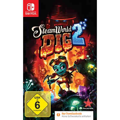 Nintendo Switch Steamworld Dig 2 (Code in a Box)