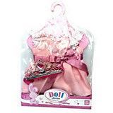 Платье для кукол с поясом Junfa, 30 см