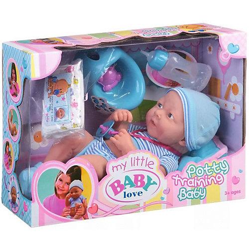 Кукла-пупс Junfa, цвет синий от Junfa Toys