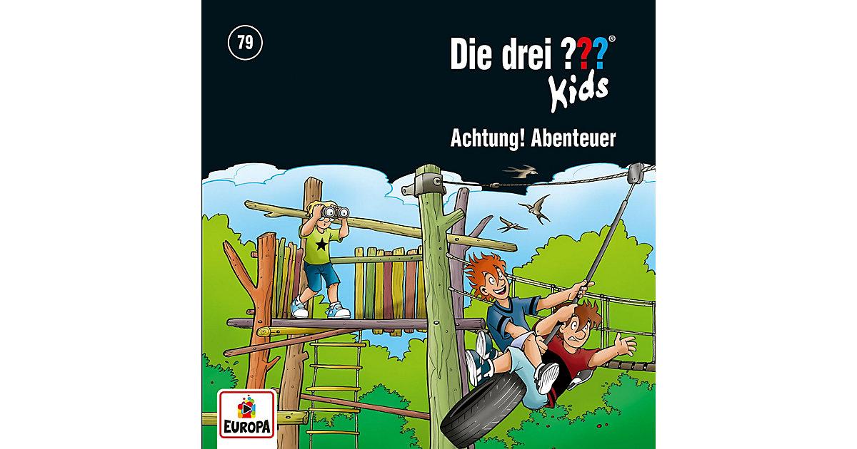 CD Die drei ??? Kids 79 - Achtung, Abenteuer! Hörbuch