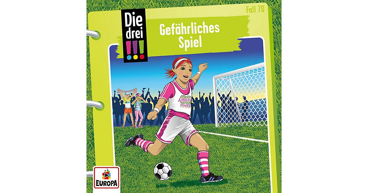 CD Die drei !!! 70 - Gefährliches Spiel Hörbuch