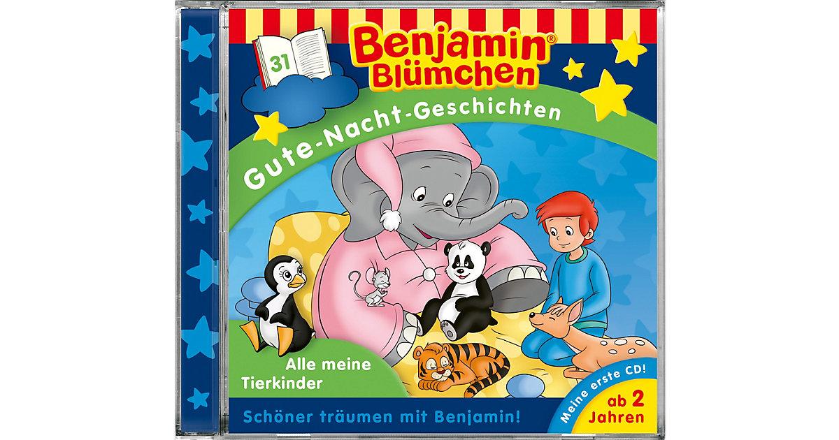 CD Benjamin Blümchen Gute-Nacht-Geschichten 31 - Alle meine Tierkinder Hörbuch