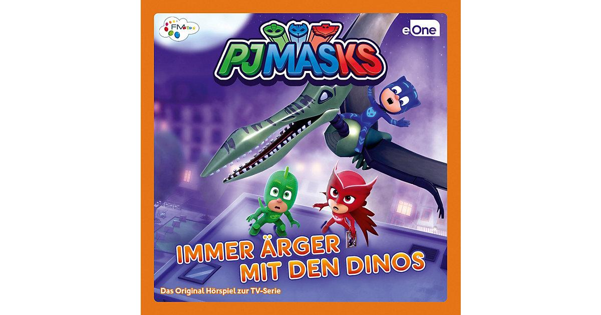 CD PJ Masks  - Ärger mit den Dinos Hörbuch