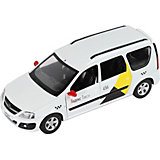 Машинка Яндекс.Такси Lada Largus, 1:24