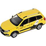 Машинка Яндекс.Такси Lada Granta Cross, 1:24