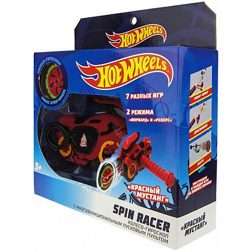 """Колесо-гироскоп 1Toy Hot Wheels Spin Racer """"Красный мустанг"""", 16 см от 1Toy"""