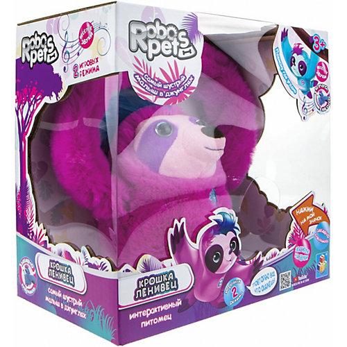 """Интерактивная игрушка 1Toy RoboPets """"Ленивец"""", движения и звук от 1Toy"""