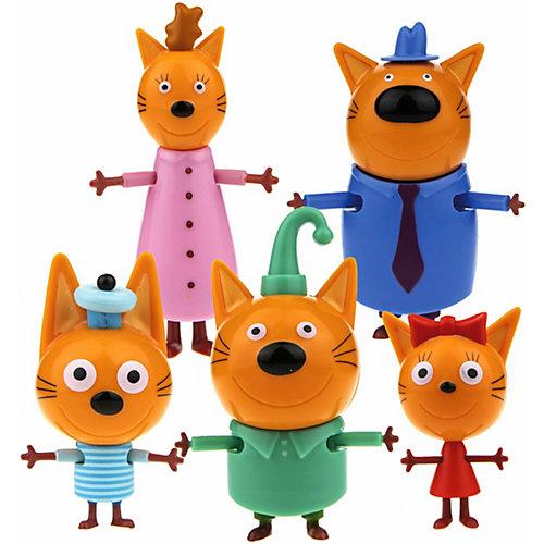 Игровой набор 1Toy «Три кота», 5 героев от 1Toy
