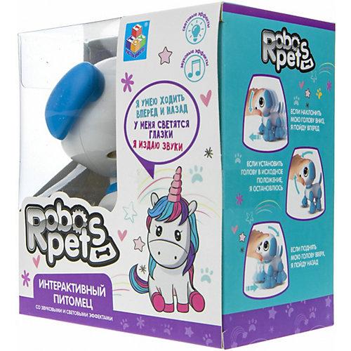 """Интерактивная игрушка 1Toy RoboPets """"Робо-щенок"""", свет, движения и звук от 1Toy"""