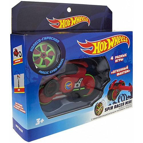 """Колесо-гироскоп 1Toy Hot Wheels Spin Racer """"Огненный Фантом"""", 12 см от 1Toy"""