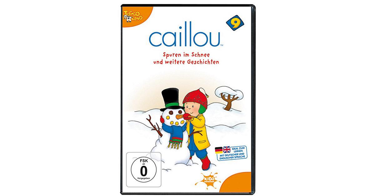 DVD Caillou 09: Spuren im Schnee