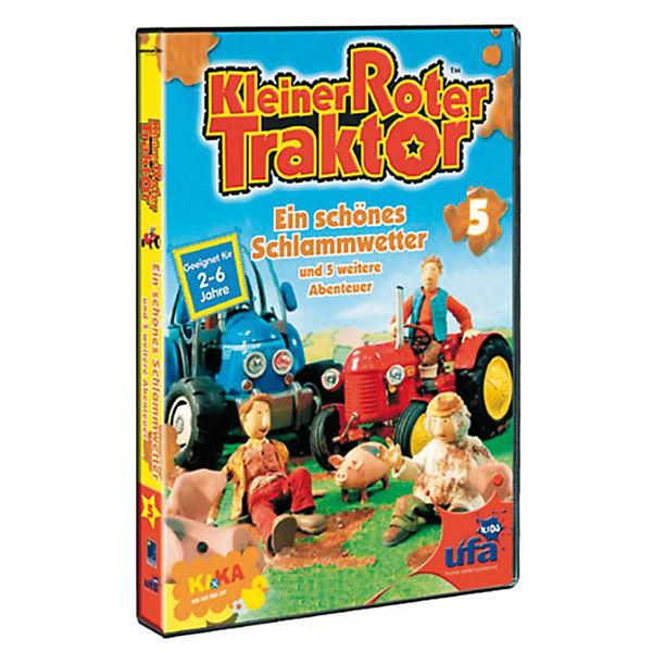 dvd kleiner roter traktor 05 ein schönes schlammwetter