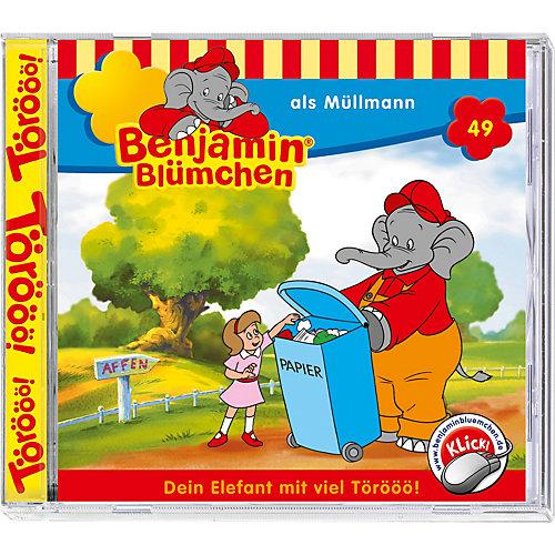 Kiddinx CD Benjamin Blümchen 49: Als Müllmann Sale Angebote Drieschnitz-Kahsel