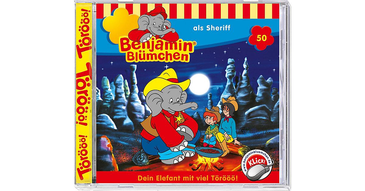 CD Benjamin Blümchen 50: Als Sheriff Hörbuch